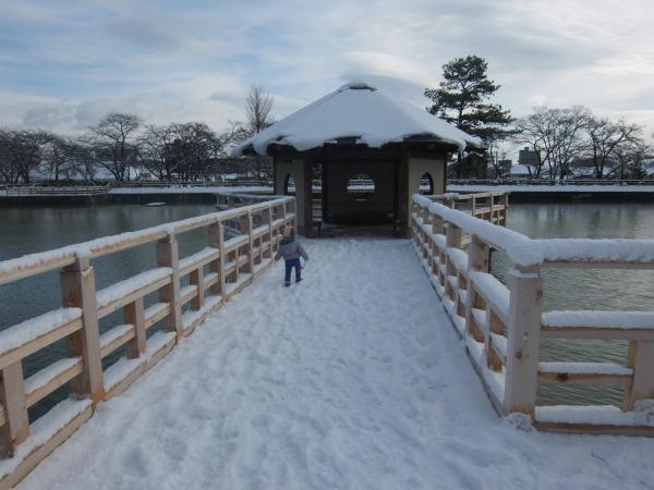 雪の長岡天神